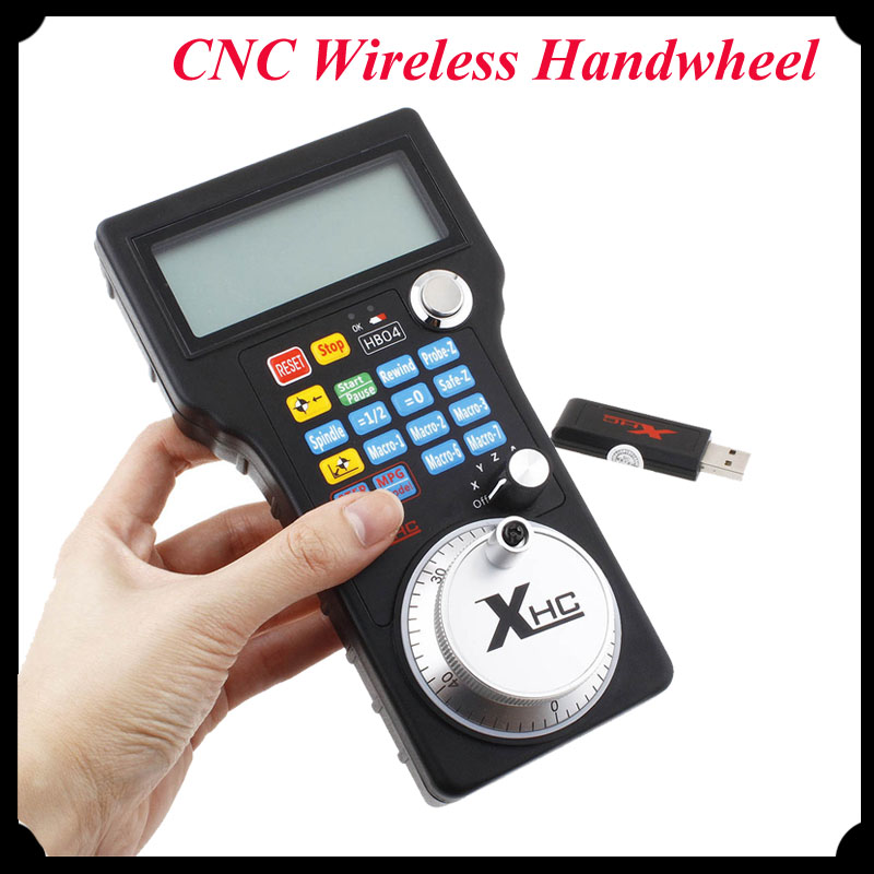 1pc New MACH3 CNC Wireless Handwheel USB MPG Pendant 4 Axis Controller for CNC Machine  цены