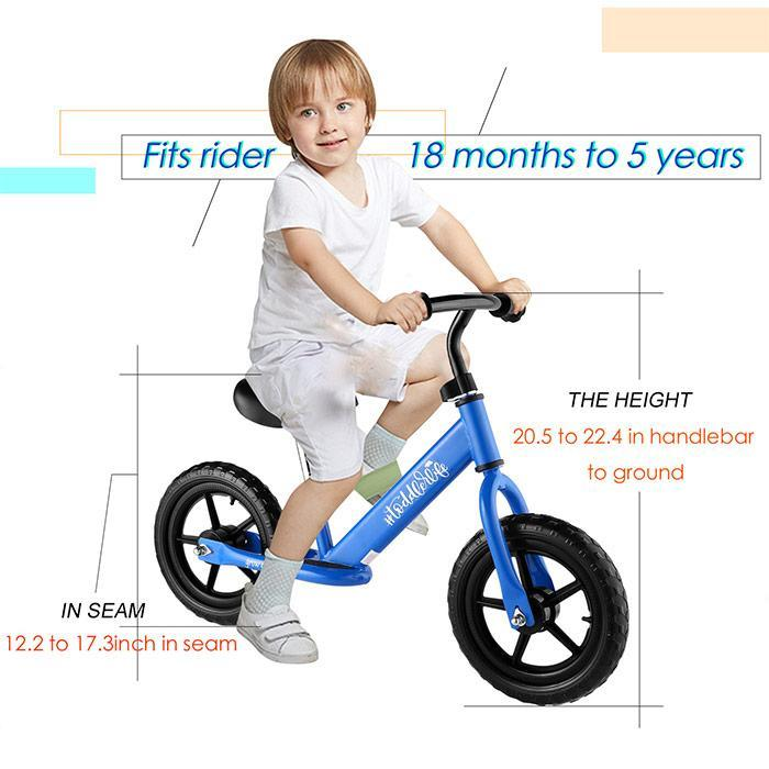 HTB1l19SzruWBuNjSszgq6z8jVXaA ANCHEER Child Balance Bike Kit Toddler bicicleta Balance Bikes Bicycle Children Walker No Foot Pedal bisiklet girls boys Scooter