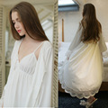 The new spring and summer and the wind silk sling sexy lace two piece set loose comfortable clothing Home Furnishing Nightgown