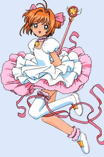 Livraison gratuite carte Captor Sakura Kinomoto Cosplay robe sur mesure pour Halloween et noël