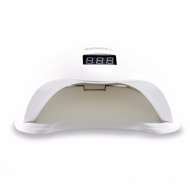 SUNUV SUN5 48W LED Nail Lamp SUN5X Updated Version UV Lamp With Bottom Nail Drying Curing Gel Lamp Nail Dryer Machine Tool