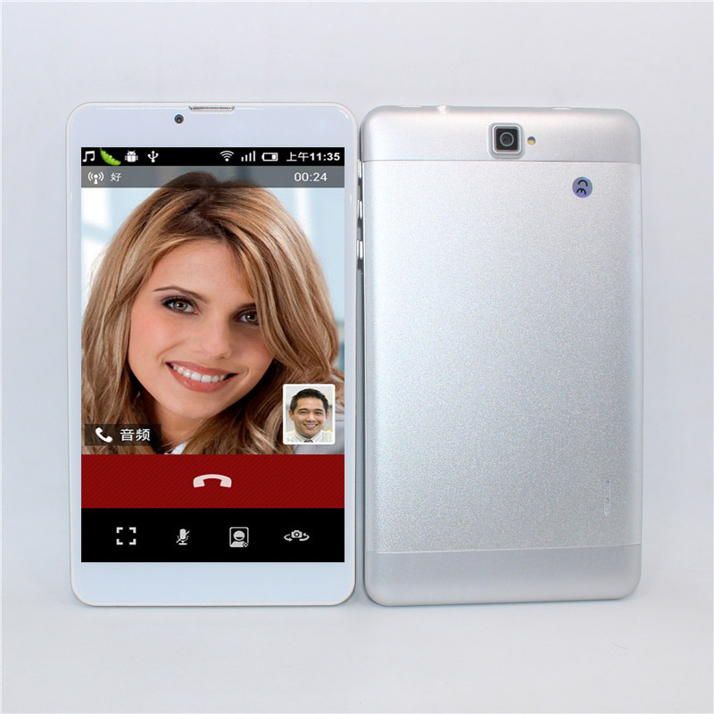 7-inch MTK7731 Quad-core 3G Phone Call GPS Android 5.1  TabletPC 1+16GB Black Silver Gold Bluetooth Multi-lingual