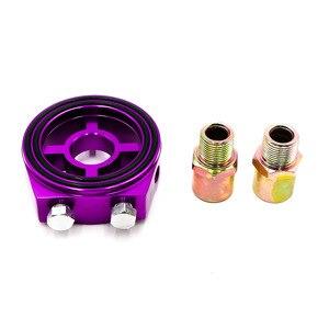 Алюминиевый датчик фильтра для масла, адаптер для автомобильного датчика температуры масла и давления масла YC100337