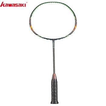 2019 Kawasaki Badminton Schläger Angriff Typ EHRE S6 30T Carbon Faser Box Rahmen Schläger Für Amateur Zwischen Spieler