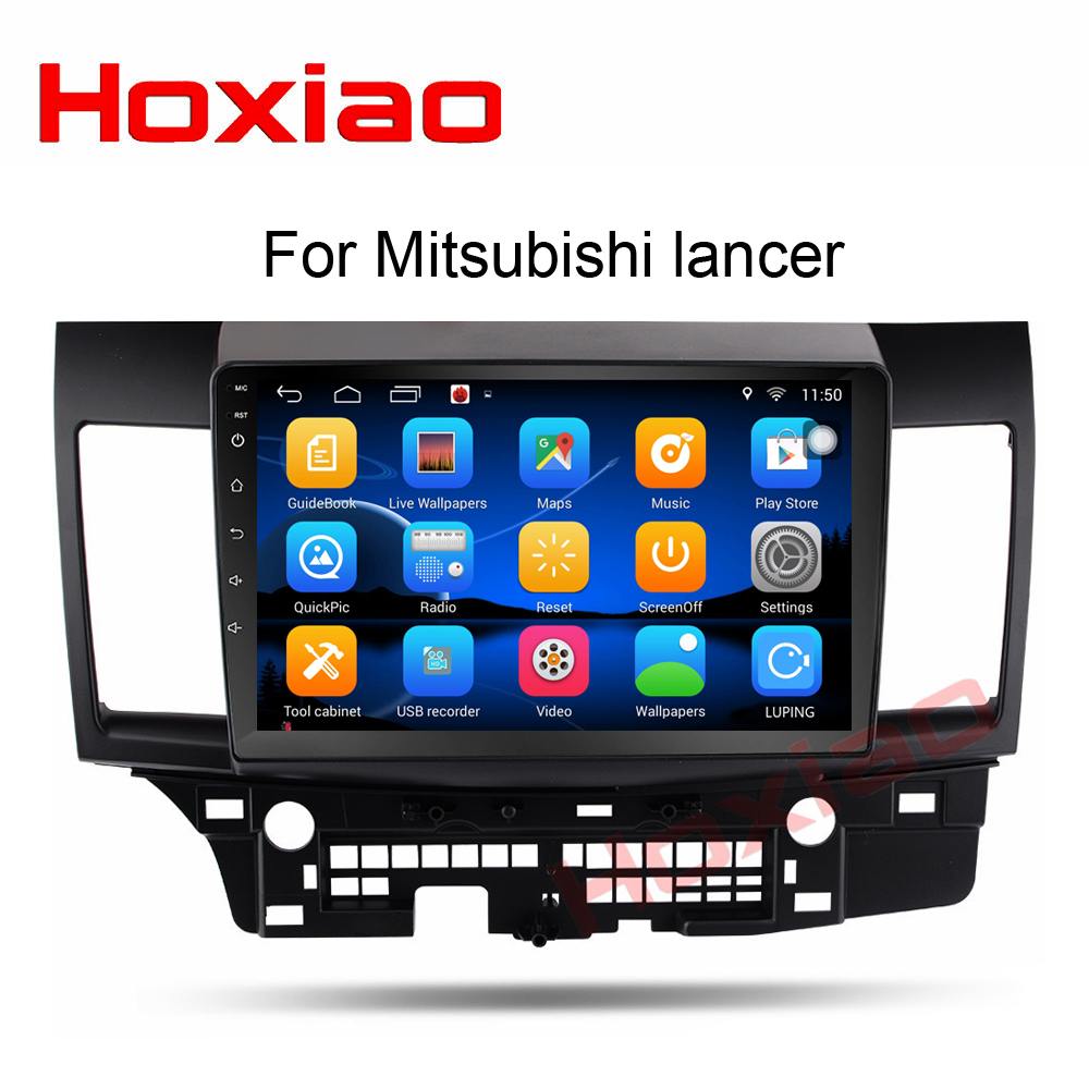 2G 32G Android Car DVD for MITSUBISHI LANCER 2008 2015 9 X 10 1 inch Head