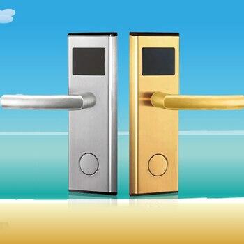 цена Homenon Electric Hotel Lock IC magnetic lock induction door lock Buy 10 sets give Card sender онлайн в 2017 году