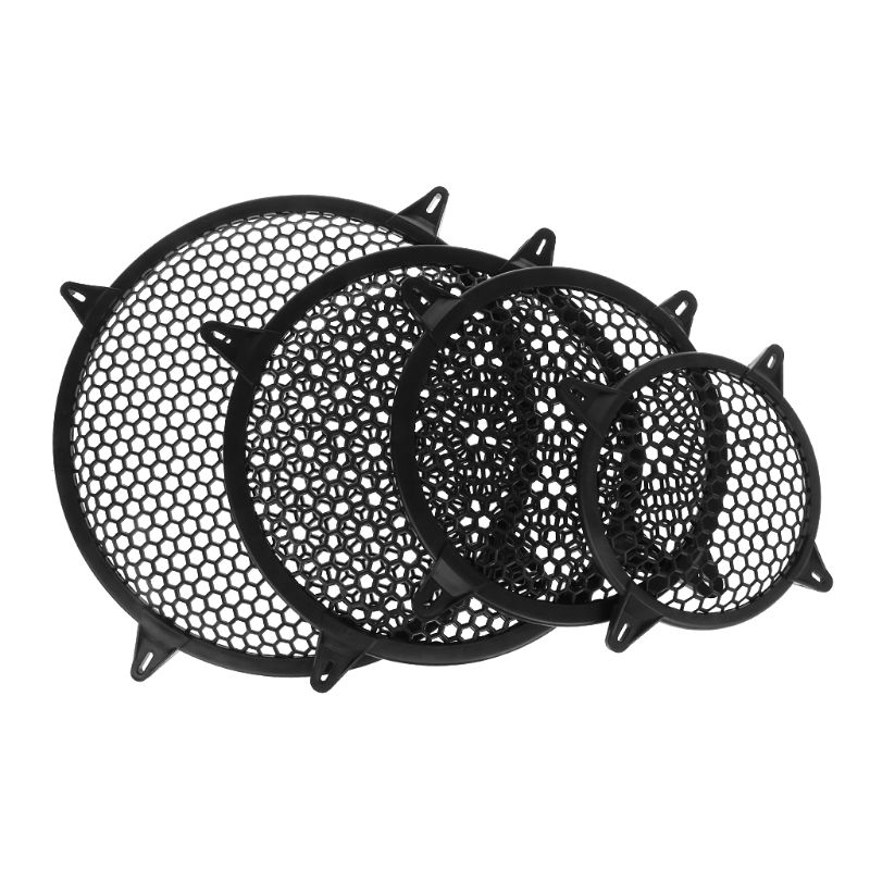 """Universal Subwoofer Grill Grille Guard Protector Cover 6"""" 8"""" 10"""" 12"""" Sub Woofer Car Home Audio Speaker Video X6HB"""