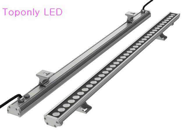 24w IP65 waterproof DC24v 1m length linear led wallwasher lamp 3030 smd high power flooding lighting 12pcs/lot DHL free shipping