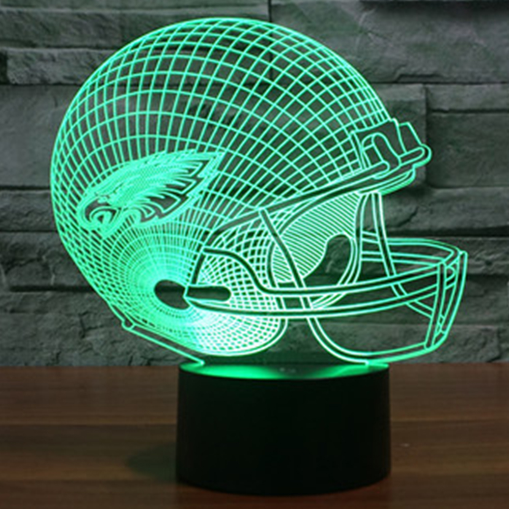 Luzes da Noite cor mudar lâmpadas 3d para Geração de Energia : Toque