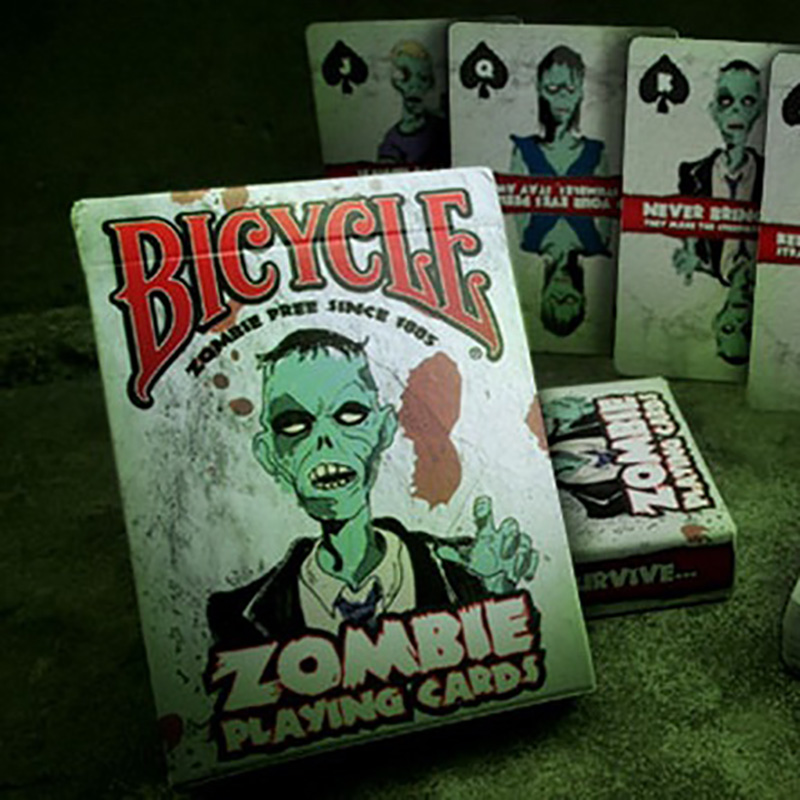 Bicycle Zombie Playing Cards Ellusionist Playing Cards Original Poker Cards for Magician Collection Card Game