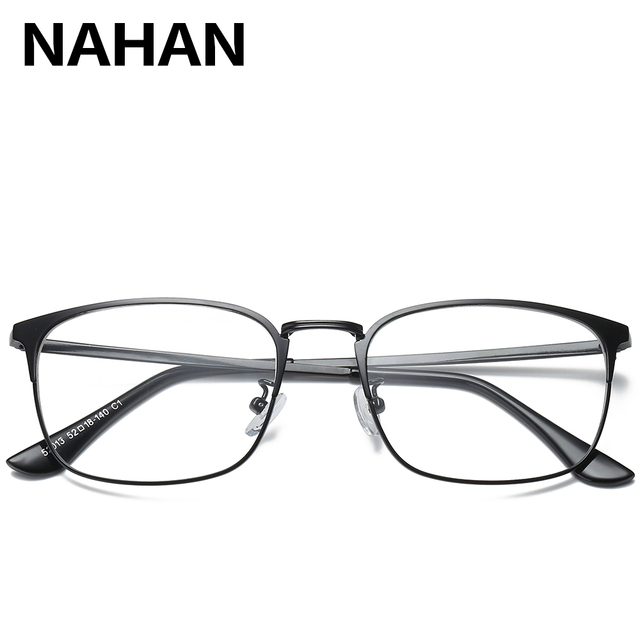 Square Myopia Spectacle Glasses Frame for Men and Women Glasses ...