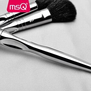 Image 3 - MSQ Professional 11pcs แปรงแต่งหน้าแปรงแต่งหน้า CLASSIC Eyeshadow Lip Foundation แปรงแต่งหน้าแพะ/ม้า PVC จับ