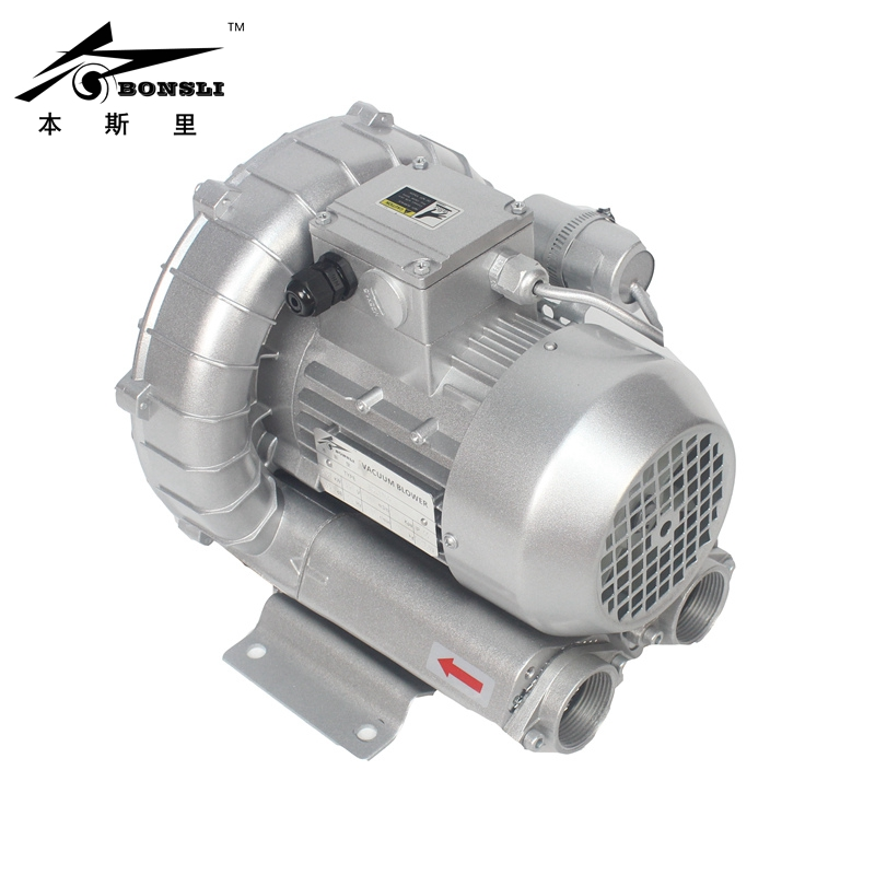 370 Watt 3-phase vortex pump vacuum pump small high-pressure industrial Side Channel Ring Blower vacuum pump inlet filters f007 7 rc3 out diameter of 340mm high is 360mm