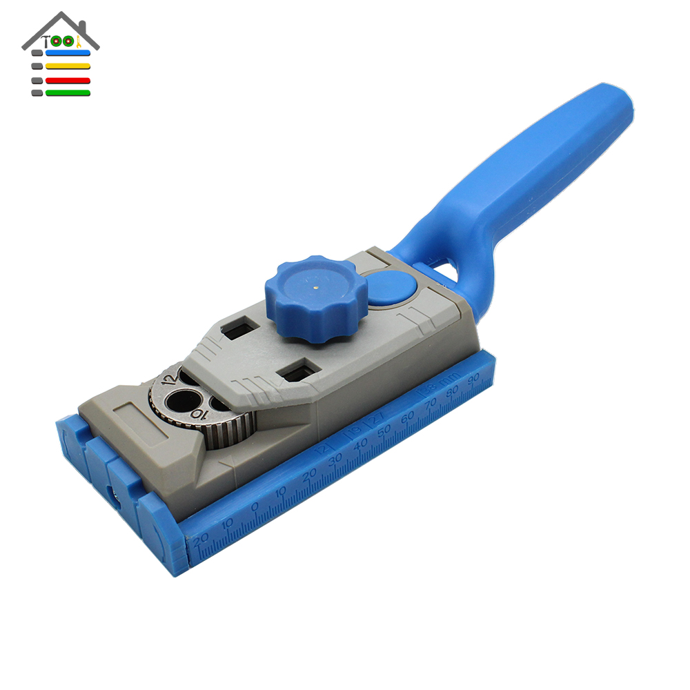 Woodworking Pocket Hole Jig 9.5mm Drill Guide Sleeve For Kreg Manual Pilot Wood Drilling Dowelling Hole Saw Master System woodworking tool pocket hole jig woodwork guide repair carpenter kit system with toggle clamp and step drilling bit k527