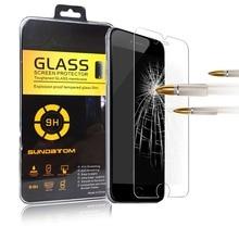 SUNDATOM Ультра тонкий Премиум Закаленное Стекло-Экран Протектор для iPhone 6 6 S Plus iPhone6 6 плюс 7 Плюс 7