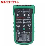 Mastech MS5900 3 모터 미터 시퀀스 테스터 LED 필드 회전 위상 표시기 2 ~ 400Hz
