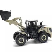 Редкая коллекционная модель из сплава, игрушка в подарок, 1:35 Liugong CLG870H, колесный погрузчик, Строительная техника, литая игрушка, модель для украшения
