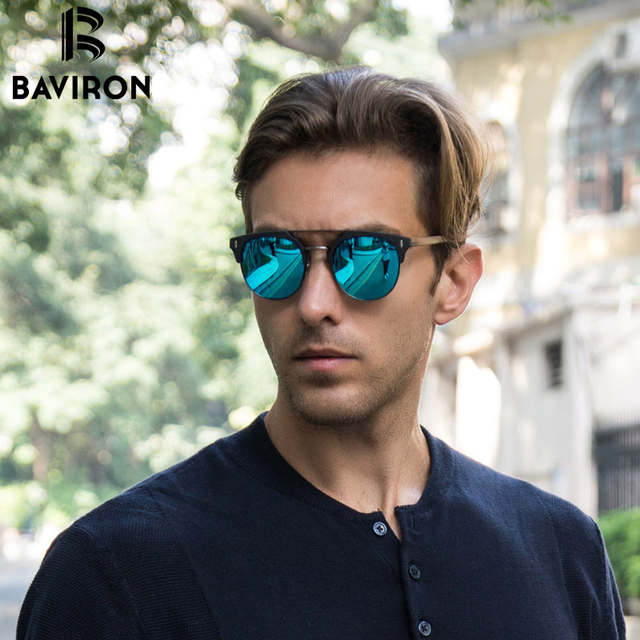 placeholder BAVIRON 2018 Similares De Madeira Óculos De Sol Dos Homens  Polarizados óculos de Sol Retros Unisex de99c1b8f5