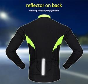 Image 5 - WOSAWE Autumn Cycling Jerseys Men Bicycle Sportswear Breathable Cycle Downhill MTB Reflective Long Sleeve Clothing Bike Shirts