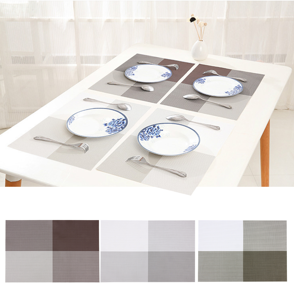 Aliexpress Com Buy Stitching Placemat Fashion Pvc Dining