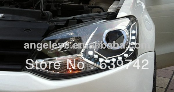 VW Xaç Polo LED Projektor Lensli 2011-2013 il LD ilə - Avtomobil işıqları - Fotoqrafiya 6