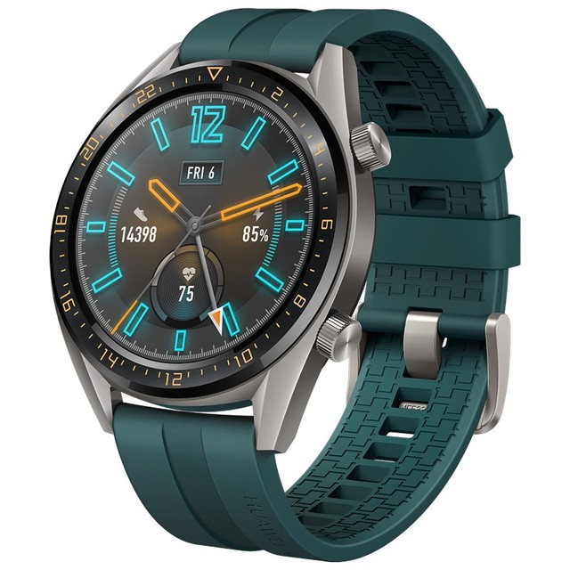 Huawei Smart Watch GT Active Version 2019 New Sports Watch Elegant Stylish Long Battery Life Real-time Heartrate Monitoring
