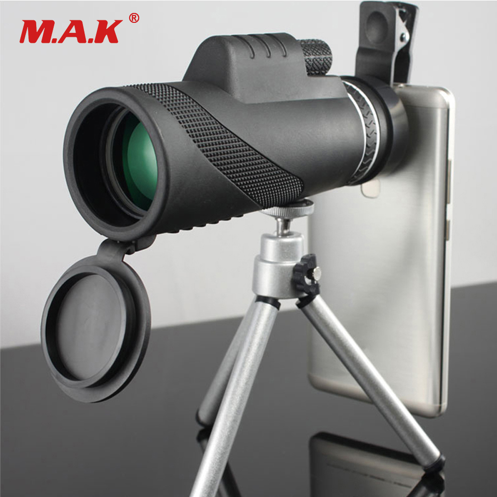 High Quality Monocular 40x60 Powerful Binoculars Zoom Field Glasses Great Handheld Telescope Military HD Professional Hunting original boshile high power 15 75x25 mini zoom monocular pocket flexible focus zoom telescope for camping dy007