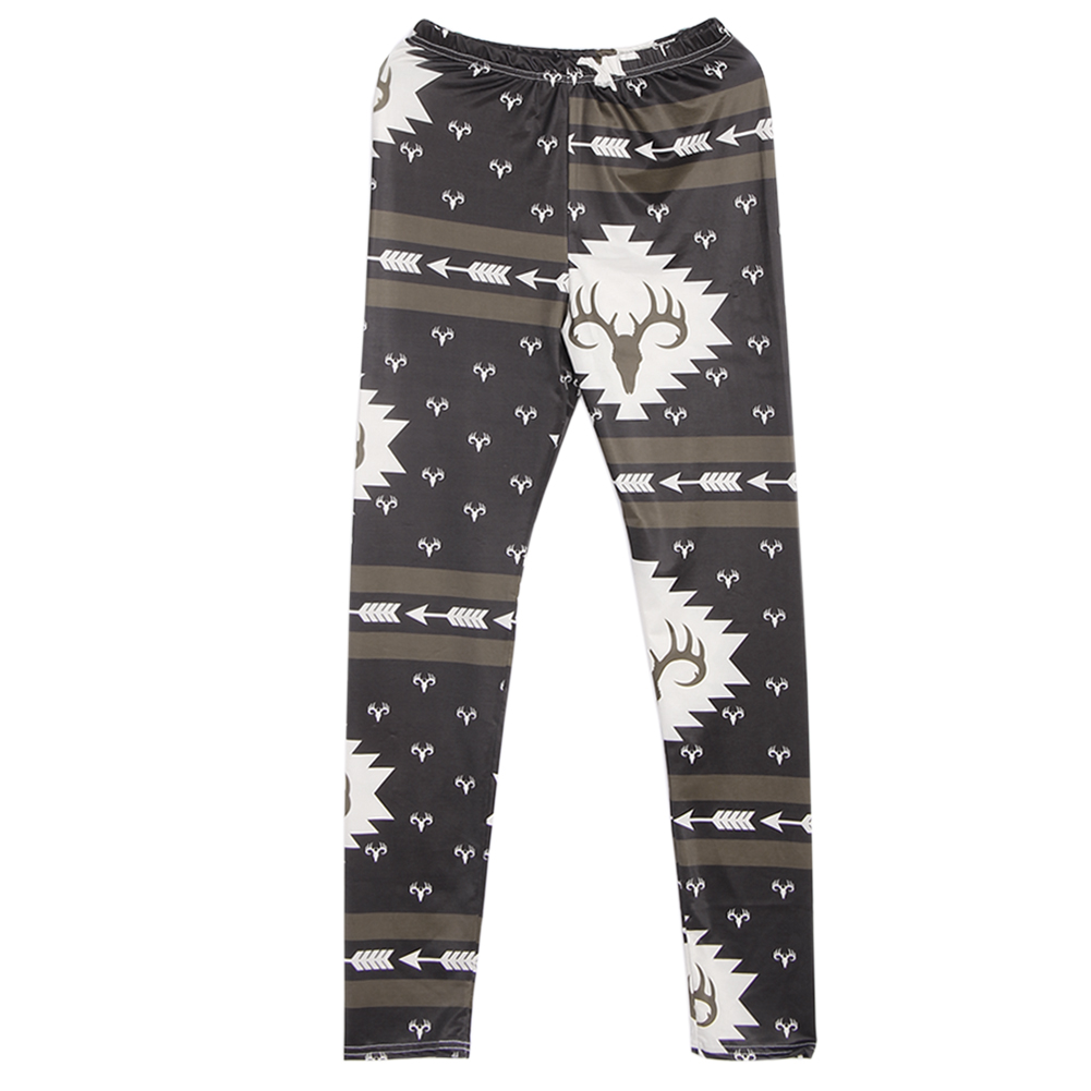 Casual Parent-child Pants Adult Mom Kids Baby Floral Print Trousers Pants Soft Leggings Family Matching Outfits Trousers