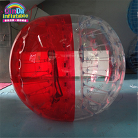 Adult TPU / PVC Body Zorb Bumper Ball Suit Inflatable Bubble Football Soccer Ball for sale