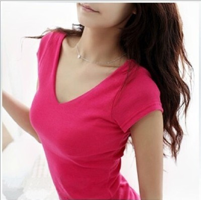 HTB1l1DHGVXXXXbIapXXq6xXFXXXs - Summer Casual T Shirt Women Tops Fashion Slim Female Short-Sleeve