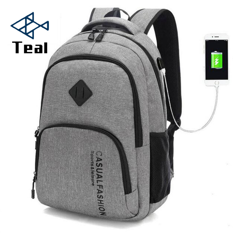 Backpack Bag Male Canvas Laptop Backpack Computer Bag High School Student College Student Bag Male