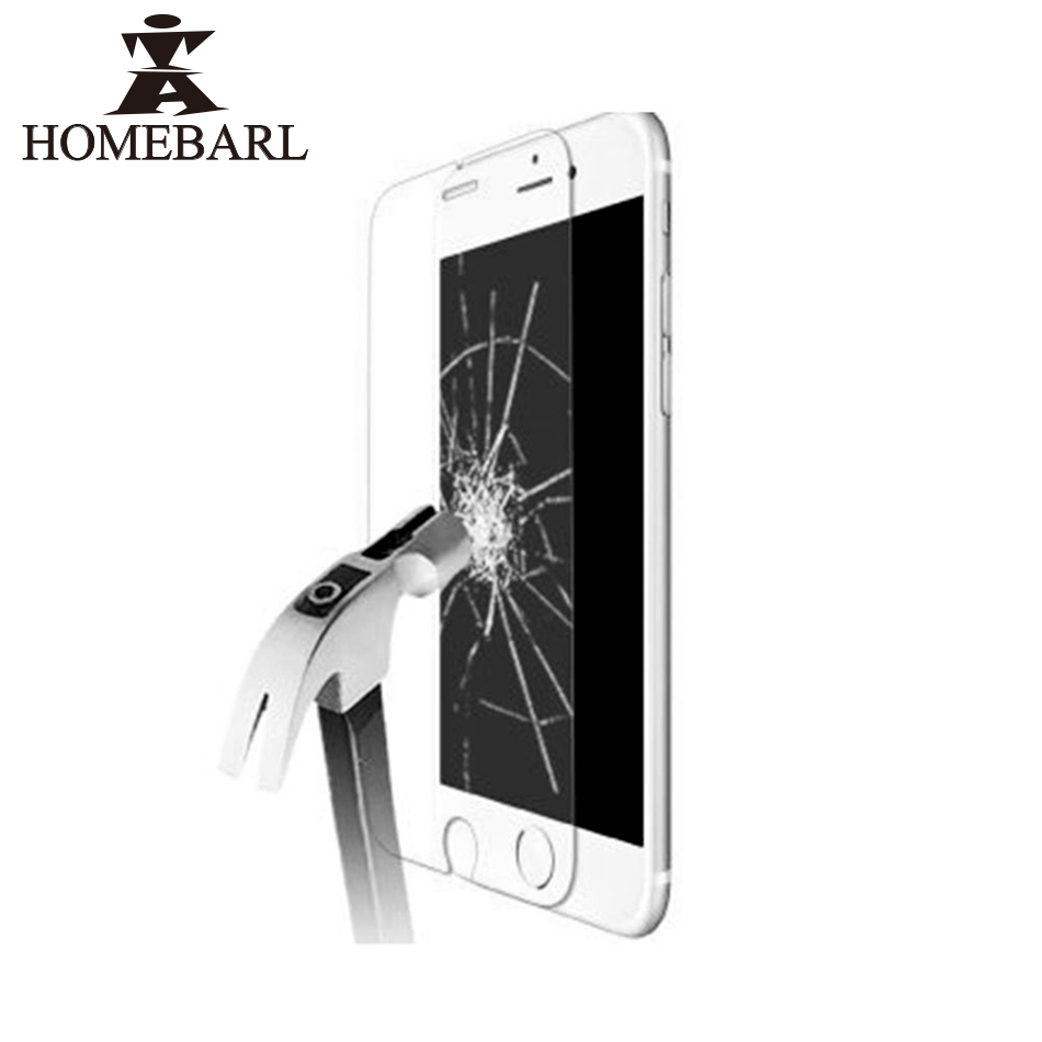 9H Tempered Glass For iphone X 10 8 Plus 7 6 6S Plus 5S SE <font><b>4S</b></font> Screen Protector Protective Guard Film Front <font><b>Case</b></font> Cover Clean Kits