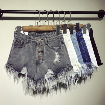 female fashion casual summer cool women denim Shorts  2