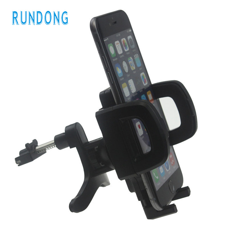 2017 New Universal Car Air Vent Mount Cradle Stand Holder For iPhone 6S 6 Plus GPS Mobile Phone Holder drop shipping
