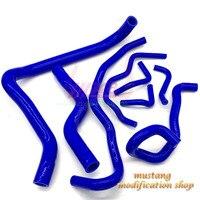 Бесплатная доставка автомобиля силиконовый шланг РАДИАТОР Fit Высокое Качество для HONDA ACCORD 2,3 CG5/7 K9 1998 2002 год красный/синий/черный