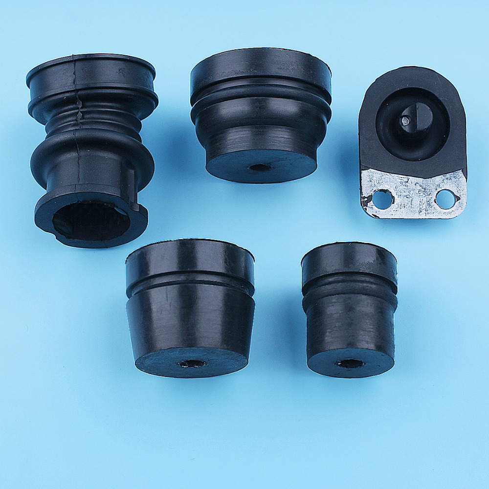 AV Buffer Mount Intake Manifold Boot Kit For Stihl 064 066 MS660 MS650 MS640 MS 660 650 640 Chainsaw Replacement Parts