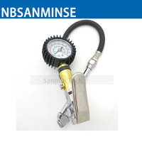 Hot Sale Tyre Inflating Inflator Gun Air Pressure Gauge For Light Truck And Bicycle Tires Pneumatic