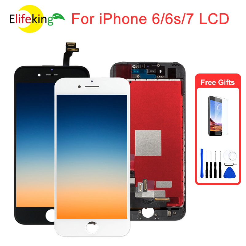 1PCS 6 Plus 6S Plus LCD Display For IPhone 6 6g 6s 7 7g Display AAA Touch Screen Replalcement Touch Screen Digitizer Assembly