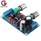 Low-pass Filter NE5532 Subwoofer Volume Process Circuit Amplifer Board AC 9V-15V