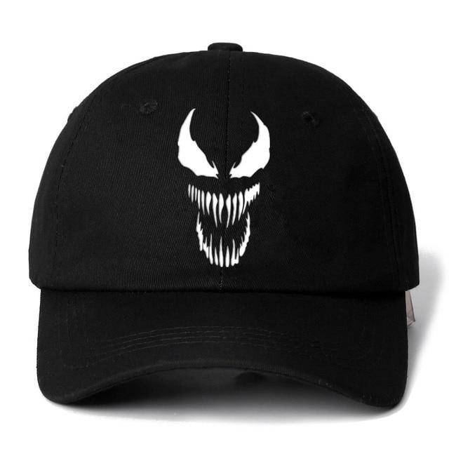 Eminem Venom Hat 100% Cotton Baseball Cap For Men Women Adjustable Hip Hop Dad  Hat 23d24abb8ff