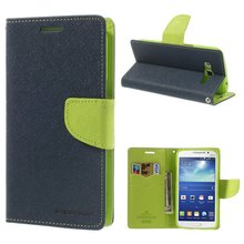 Mercury Brand Flip PU Leather Case For Samsung GALAXY GRAND 2 G7106 G7102 G7105 G7108 Phone Bag Cases Cover with stand Function