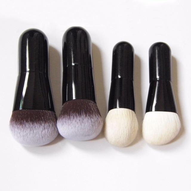 Pinceles de maquillaje profesional de bebé lindo Sokouhou sintético suave pelo de cabra rubor contorno cepillo de maquillaje brocha