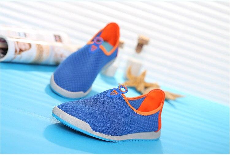 Hombres Colorido Malla Transpirable Hit Verano Slip Suave Pisos on color Marea Ocasional Hombre 2017 Zapatos De Nuevos x4nEgwf8
