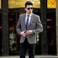 Men Fashion Korean Men Suits Men Blazer Plus Size Pure Color Of 3 Kinds Of Color Men's Jacket Velvet Suit Men