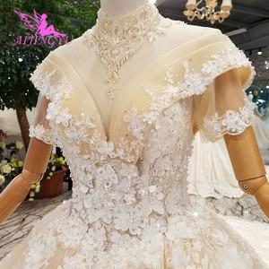 Image 3 - AIJINGYU Tül Elbisesi Prenses Önlük Evlilik Düğün Ekonomik Gelin Kabarık Tüpler Giyim Özel Durum Elbise