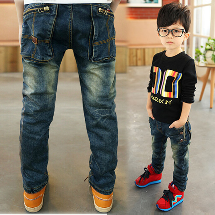 e30ce0e94 Boys jeans 2017 Spring and autumn children's clothing children ...