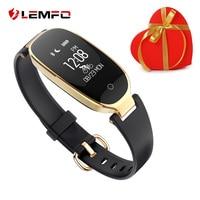 S3 Women Smart Bracelet Heart Rate Monitor Pedometer Tracker Smart Bracelet Smart Band Fashion Girl Lady