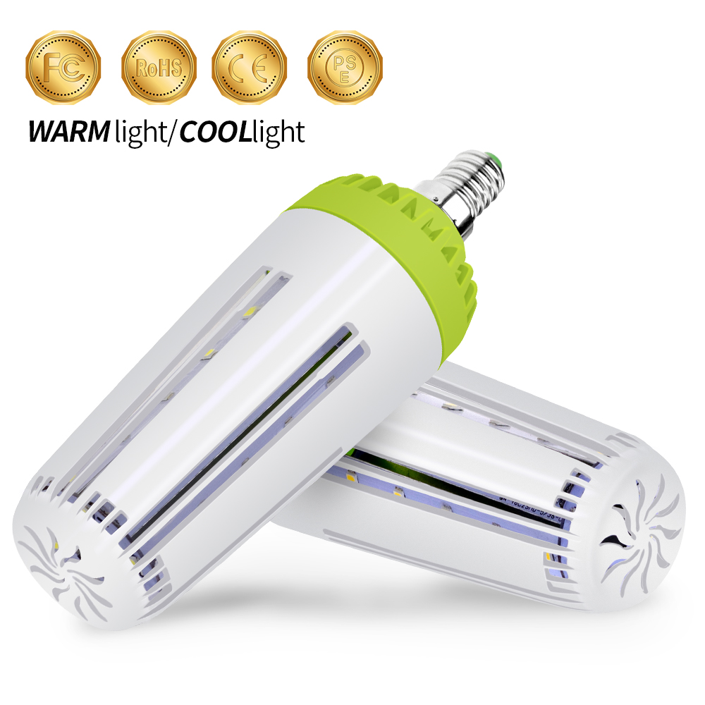 E27 Led Lamp E14 AC 85-265V Led Bulb SMD 5736 10W 15W 20W Corn Bulb Light 42 60 78leds Bombillas Smart IC Bedroom Creative Lamp