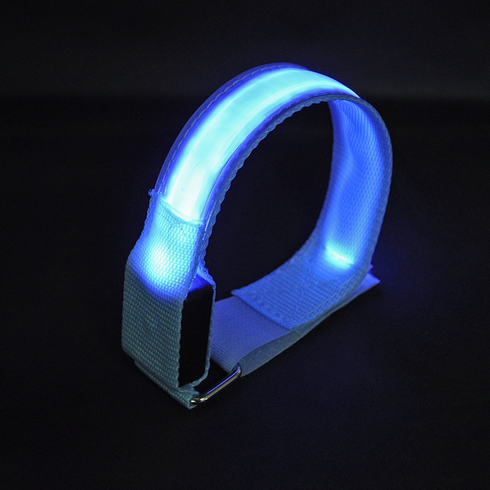 Running Fashion Style 1 Pcs Led Arm Leg Cycling Safety Light Running Party Concert Glowing Arm Band Mtb Bicycle Riding Warning Portable Wristband 2019 Official
