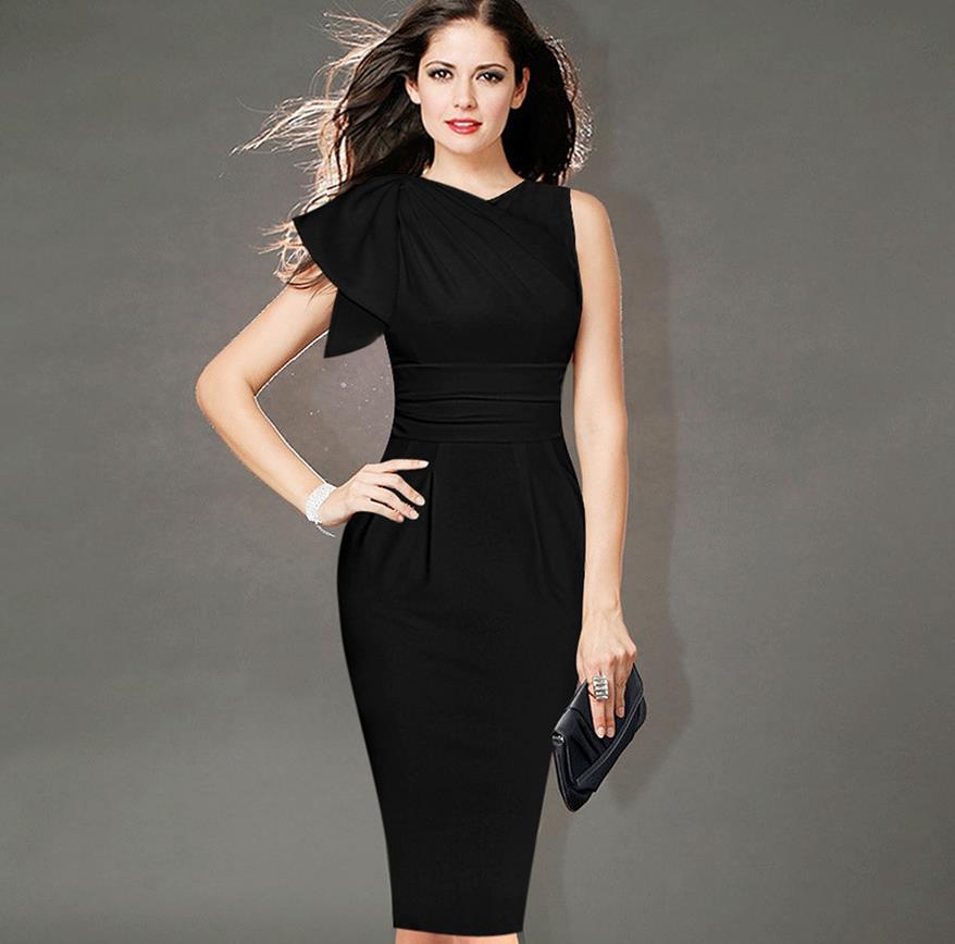 молодняка черные платья фото дизайнеров дождь, снег солнце